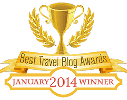 Best Travel Blog Awards Jan 2014