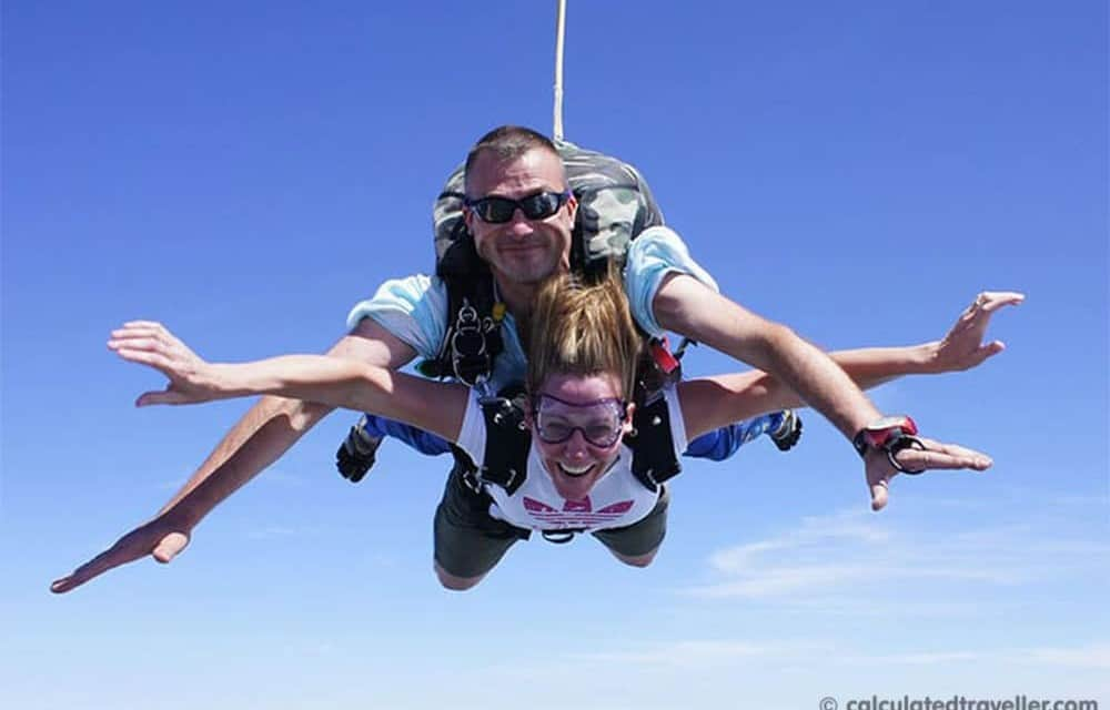 Cross Off Number 1 on the Bucket List – Skydiving