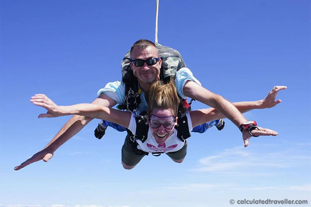 Number 1 on the Bucket List - Skydiving