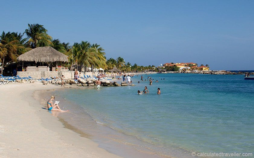 A One Day Itinerary for Curacao Calculated Traveller Cabana Beach Curacao