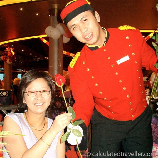 Celebrating the Holidays at Sea on a Cruise Ship - Valentines