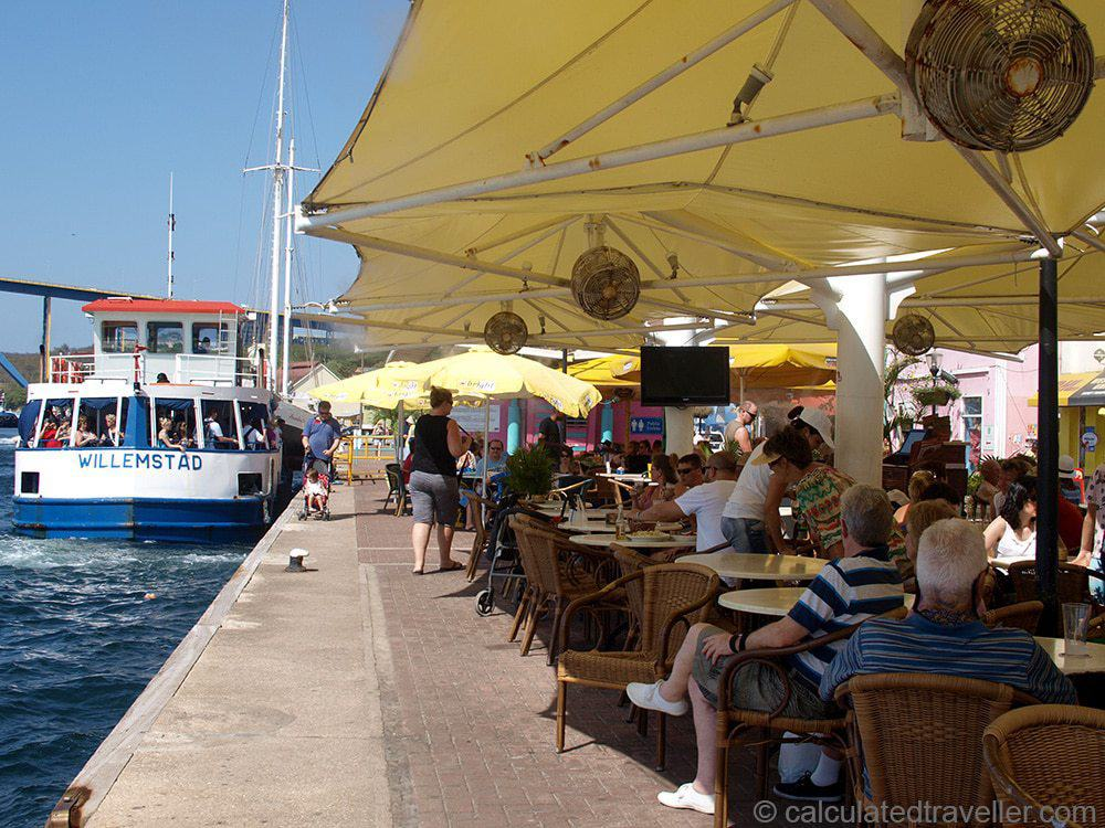 A One Day Itinerary for Curacao water front restaurants
