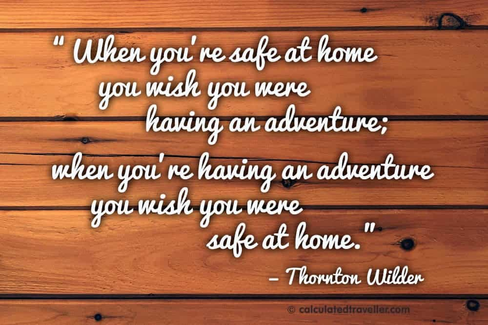 Finding Adventure in Your Own Neighbourhood via Calculated Traveller