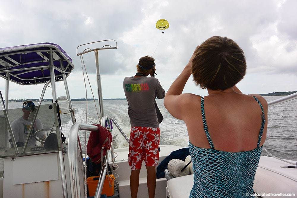 Parasailing in Hilton Head, SC