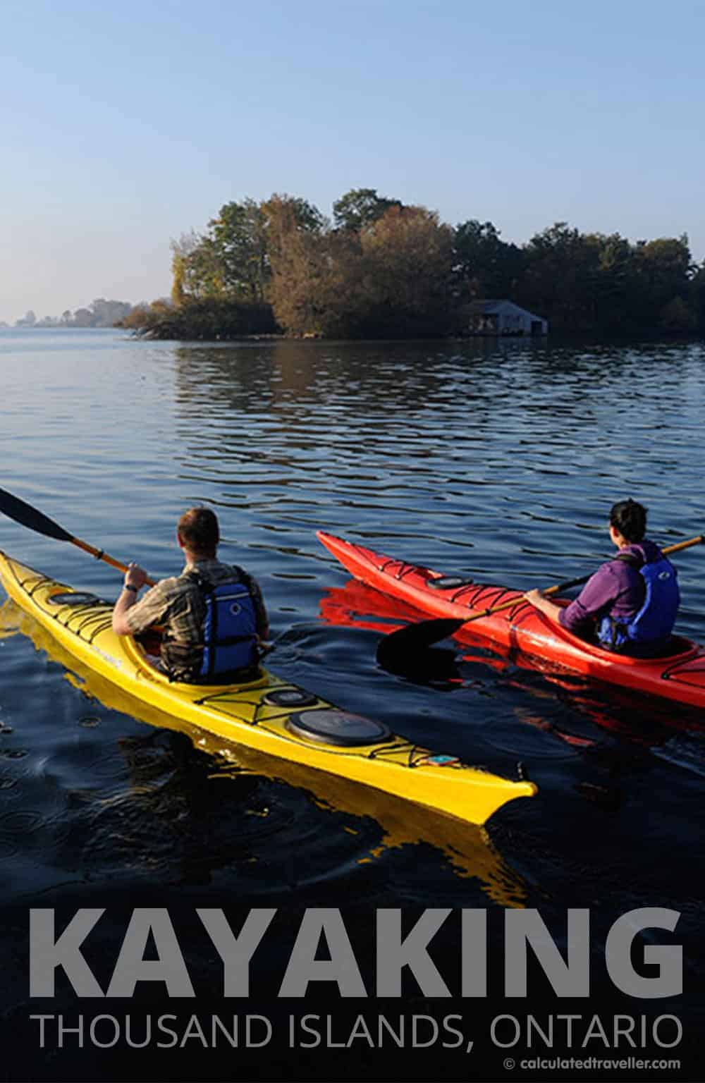 1000 Islands Kayaking in Thousand Islands, Ontario: Paddling back through history by Calculated Traveller | #Ontario #travel #outdoor #kayak #ThousandIslands