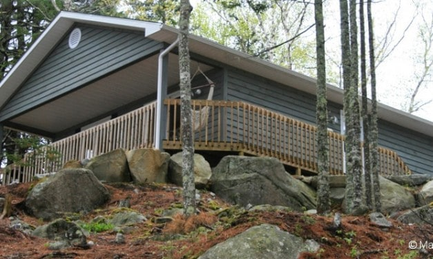 Put your Feet up and Relax at Boulder Cove Cottages, Nova Scotia