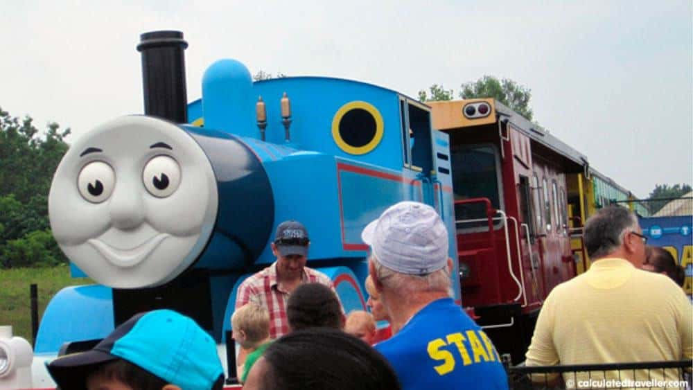 All Aboard for a Day Out With Thomas the Train