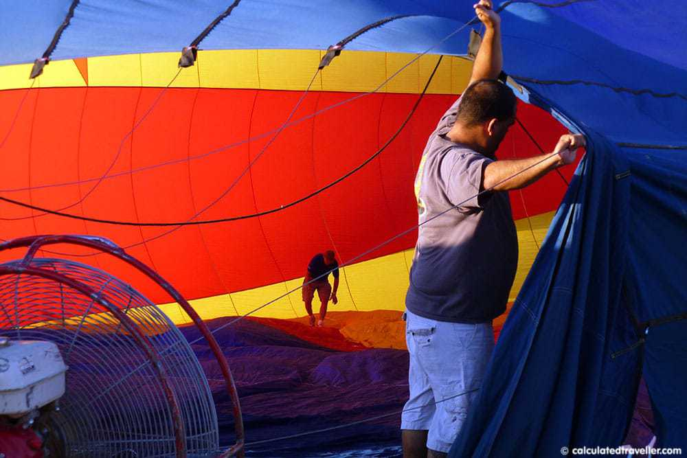 Hot Air Balloon Ride with Rainbow Ryders in Scottsdale, Arizona