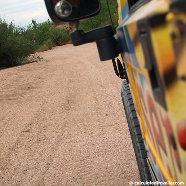 An Educational Hummer Ride through Tonto National Forest