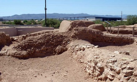 Learning about the Hohokam at the Pueblo Grande Museum and Archaeological Park, Phoenix, Arizona