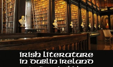 Irish Literature in Dublin Ireland – Words NOT Whiskey