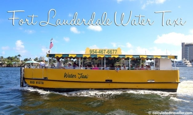 """Sailing the """"Venice of America"""" Aboard Fort Lauderdale Water Taxi"""
