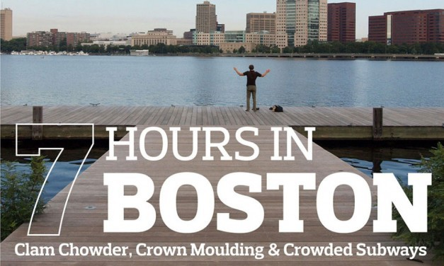 7 Hours in Boston: Clam Chowder, Crown Moulding & Crowded Subways