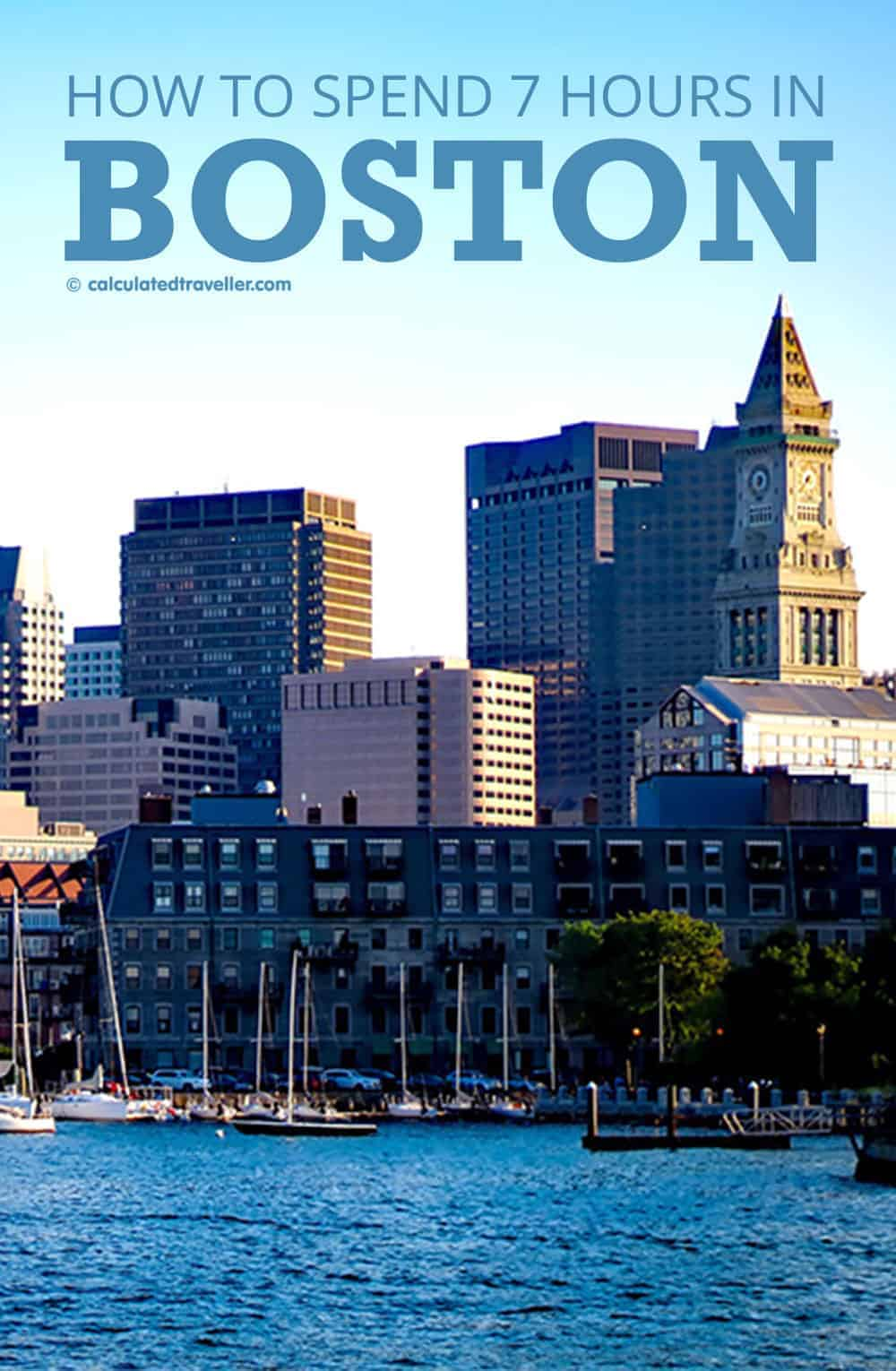 7 Hours in Boston: Clam Chowder, Crown Moulding & Crowded Subways. A Guide by Calculated Traveller Magazine. |  #Boston #cruise