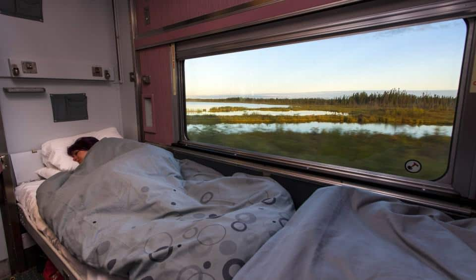 Sleeper Cabin Via Rail