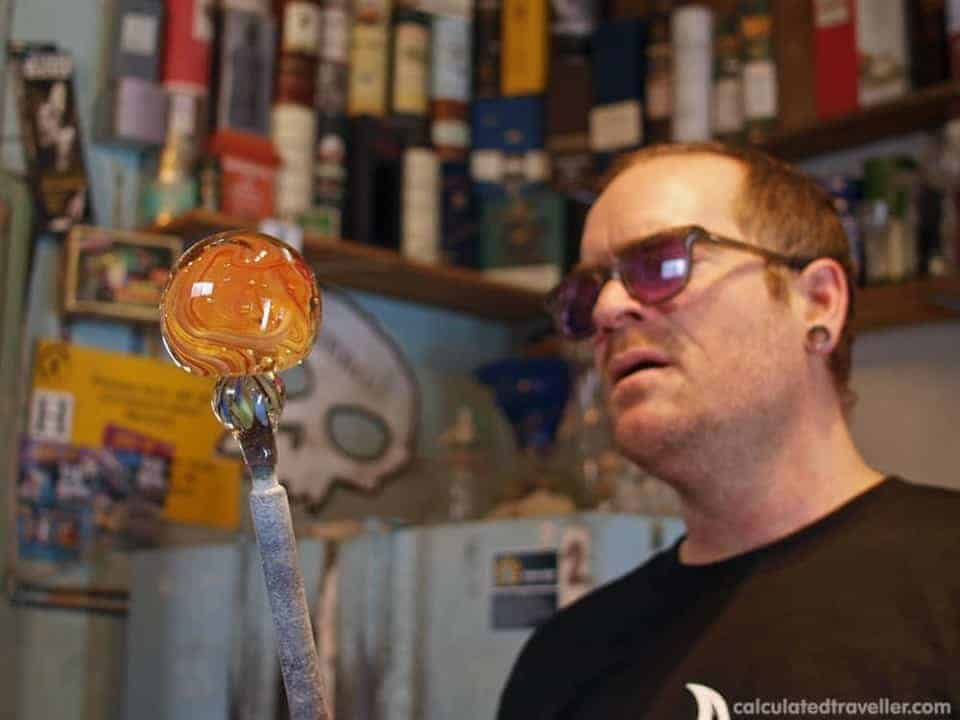 artech glass blowing studio