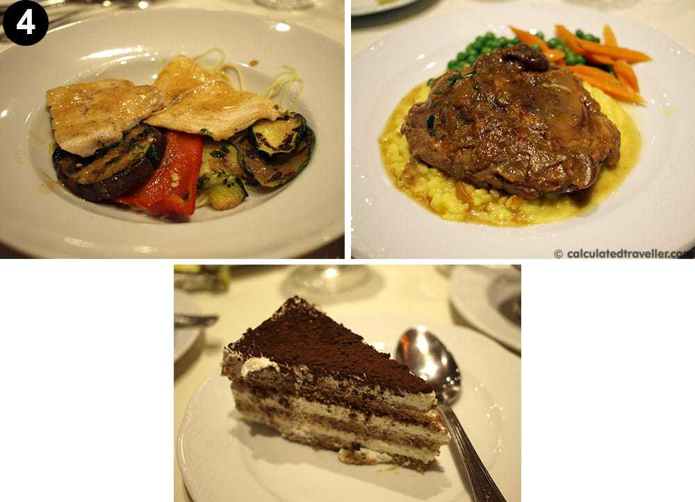 MSC Divina food review