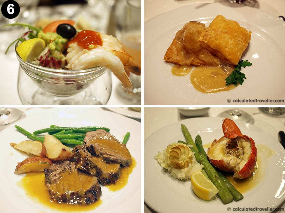 MSC Divina food review Gala night