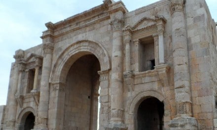 Decapolis League – The Roman Ruins of Jerash, Jordan
