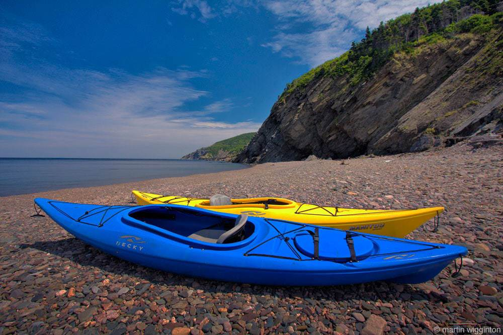 Meat Cove Kayaking Cabot Trail