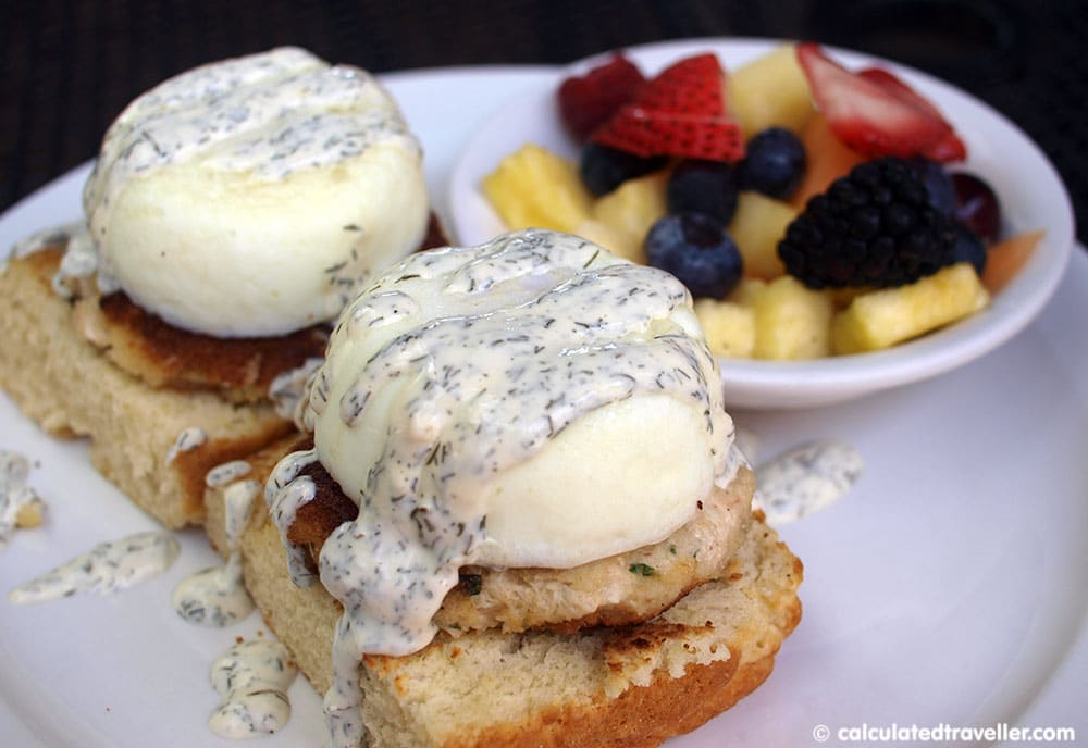 lowcountry backyard restaurant James Island Benedict