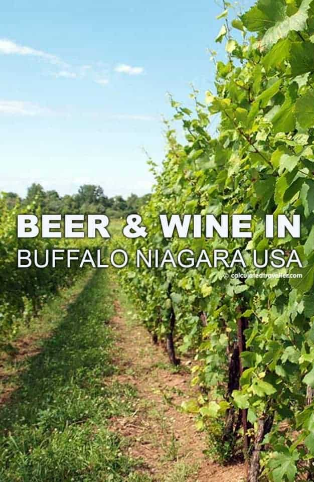 Beer and Wine in Buffalo Niagara USA #NiagaraWineTrailUSA by Calculated Traveller