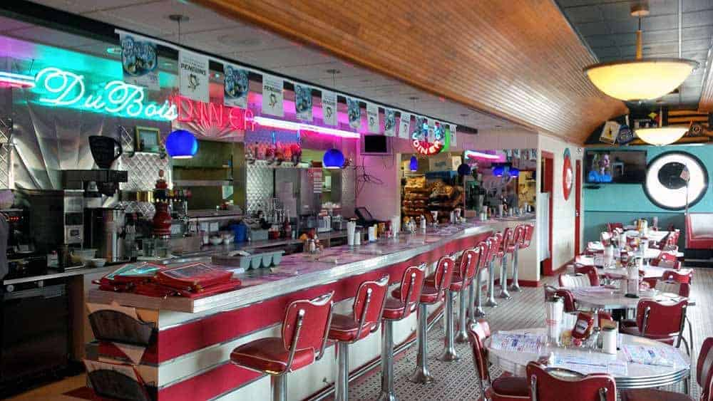 Finding the Hidden Gems of Small Town USA, DuBois Diner Pennsylvania Calculated Traveller