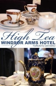 High Tea at the Windsor Arms Hotel in Toronto Calculated Traveller