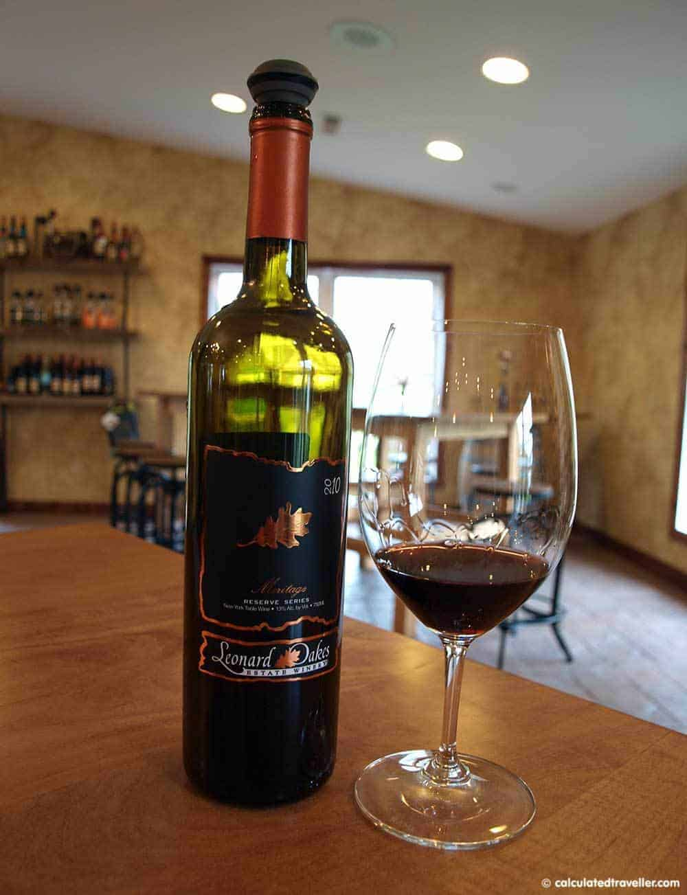 Leonard Oakes Estate Winery, Beer and Wine in Buffalo Niagara USA Calculated Traveller