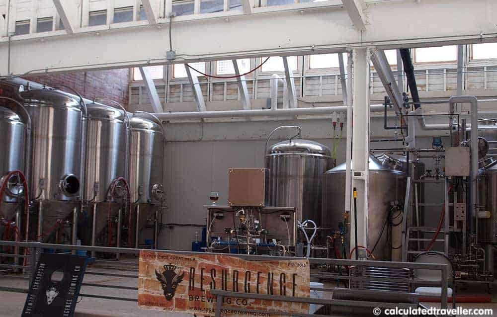 Resurgence Brewing Company, Beer and Wine in Buffalo Niagara USA Calculated Traveller