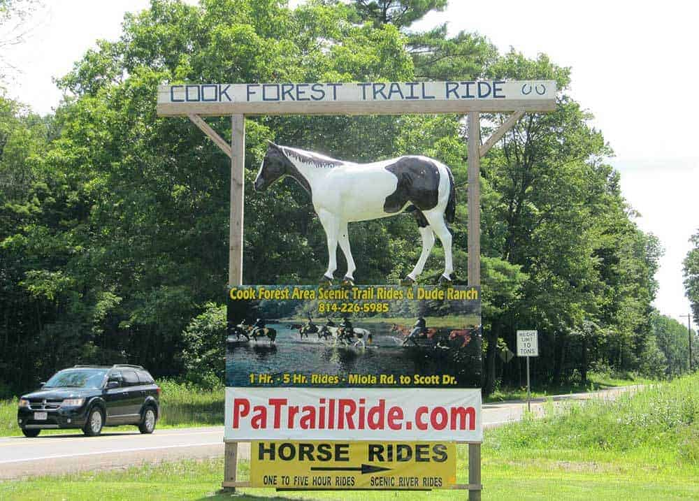 Finding the Hidden Gems of Small Town USA, Trail Ride Calculated Traveller