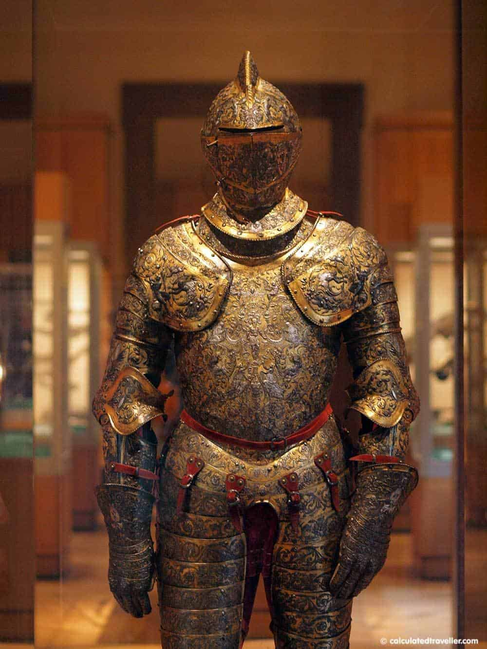 Armour of Henry II of France MET NYC