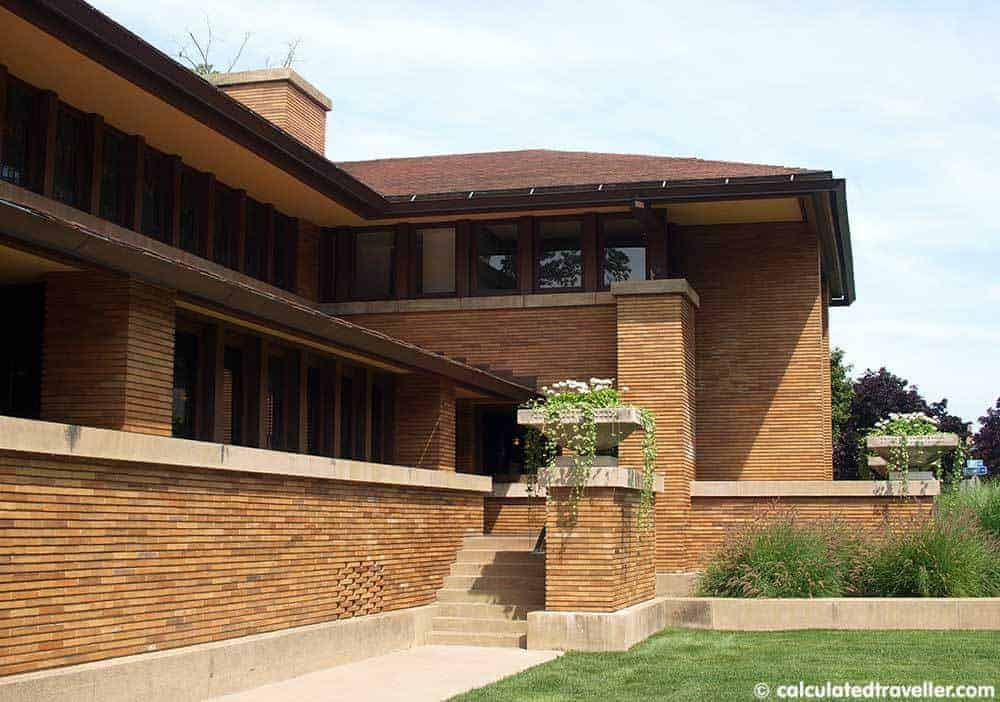Frank Lloyd Wright Darwin Martin House Calculated Traveller