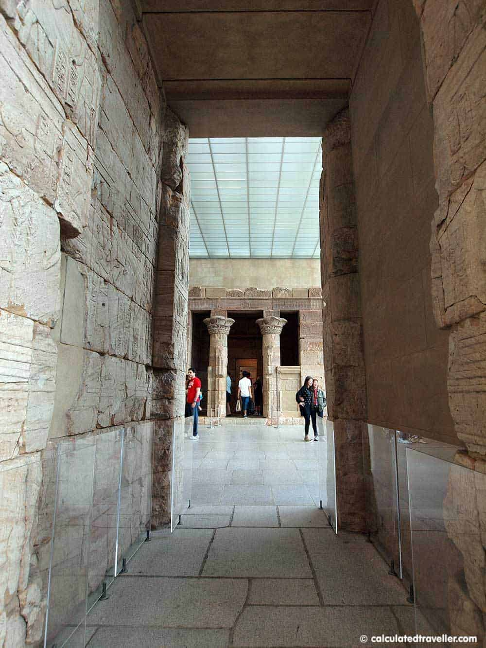Temple of Dendur Metropolitan Museum of Art NYC