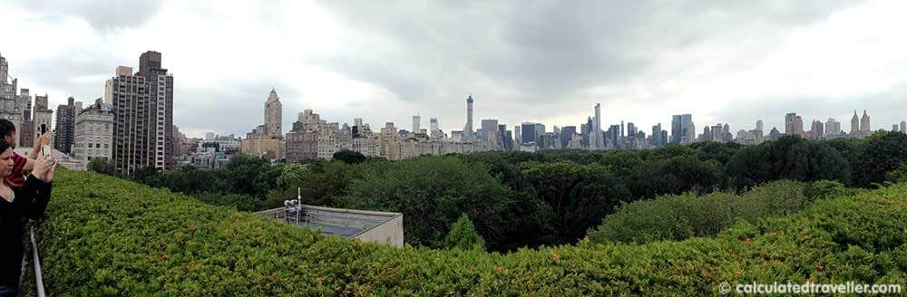 Rooftop View Metropolitan Museum of Art NYC