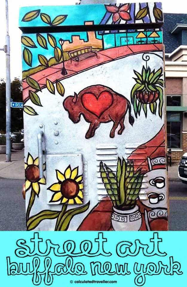 Elmwood Village Street Art in Buffalo NY by Calculated Traveller