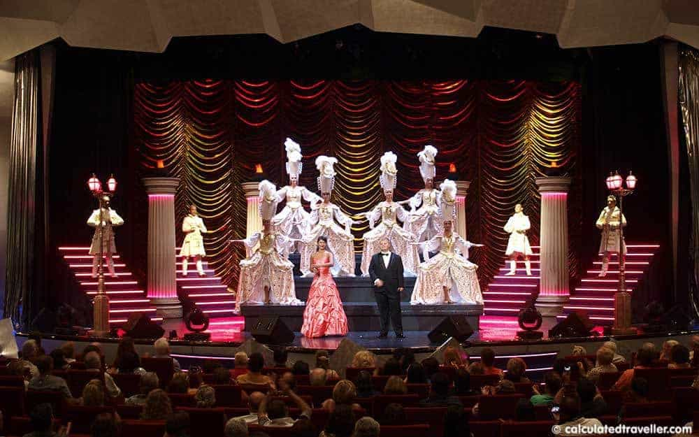 first-time cruise ship experiences opera