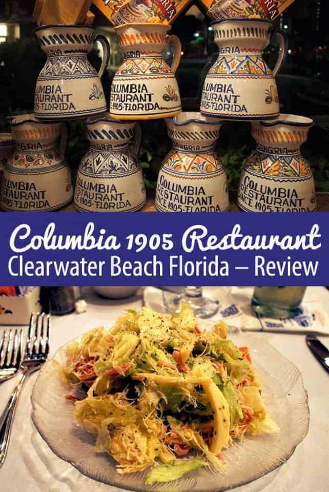 Columbia 1905 Restaurant Clearwater Beach Florida - Review by Calculated Traveller