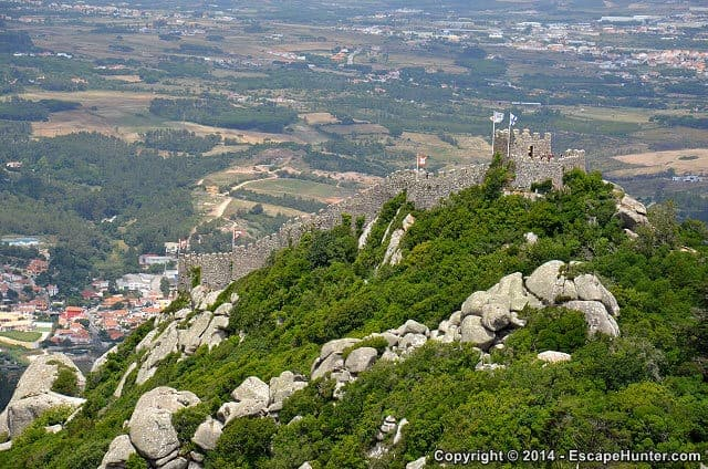 Exploring the Vicinity of Lisbon: Sintra and Belém – Sintra Moorish Castle
