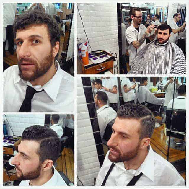A Gentleman's Adventure in Toronto - Haircut at Crowsnest