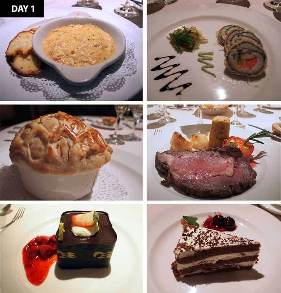 5 Days 5 Dinners - Caribbean Princess Dining Review - Day 2