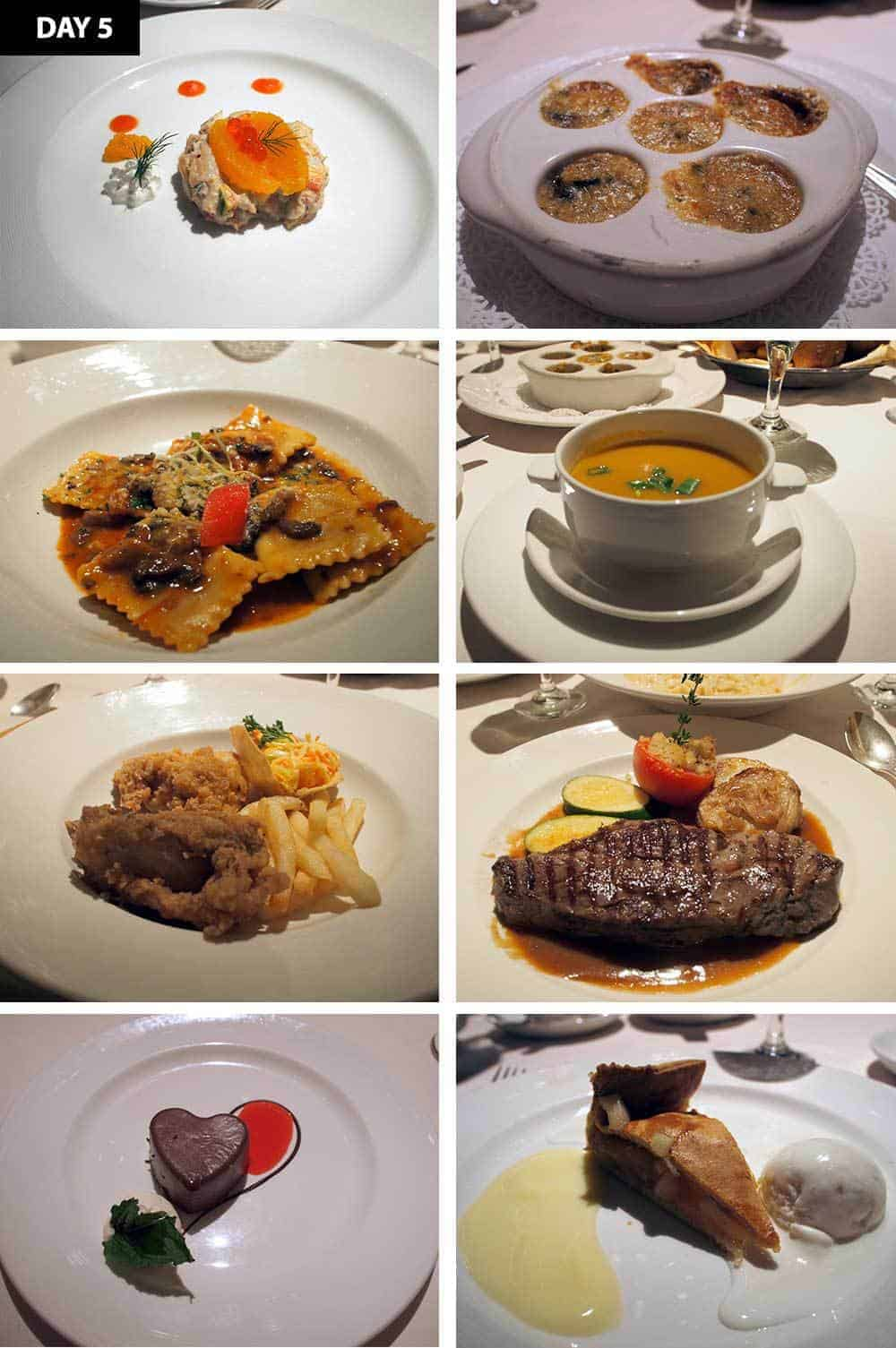 5 Days 5 Dinners --- Caribbean Princess Dining Review
