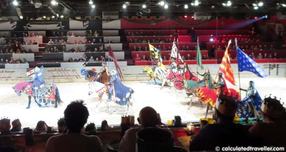 Medieval Times Dinner & Tournament - Orlando Florida Procession