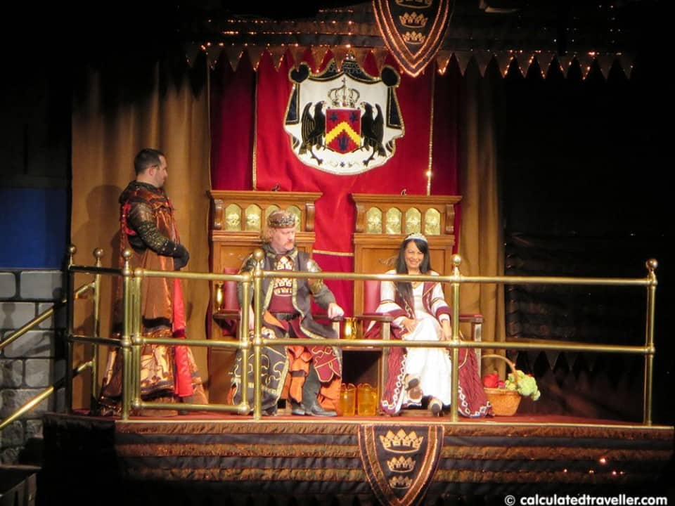Medieval Times Dinner & Tournament - Orlando Florida - Royal Court