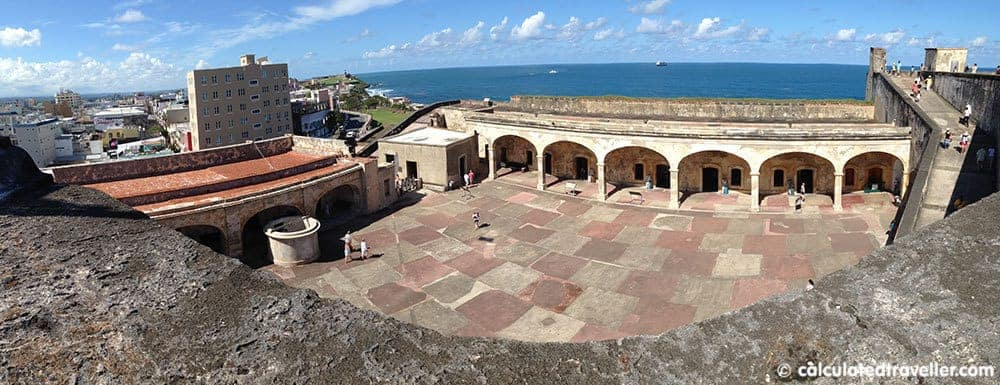 One Day in San Juan Puerto Rico - Castillo San Cristobal