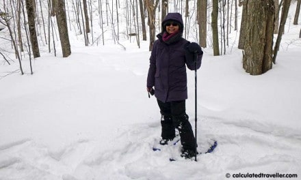 Snowshoeing Lessons Learned at Minden Wild Water Preserve