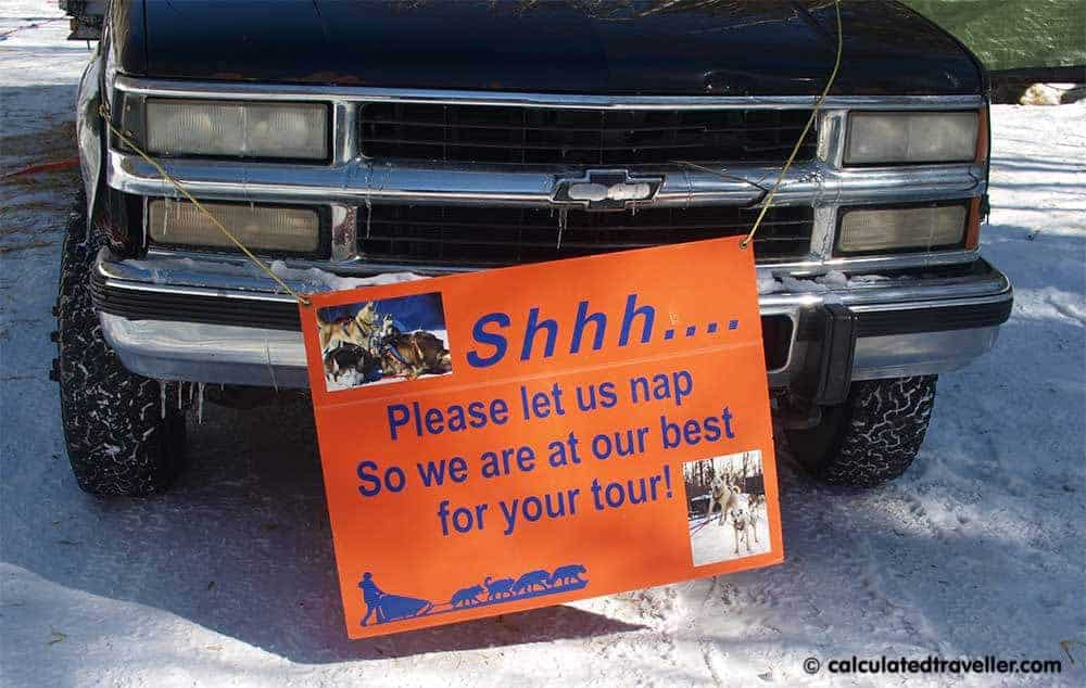Winterdance Dogsled Tours Haliburton Ontario