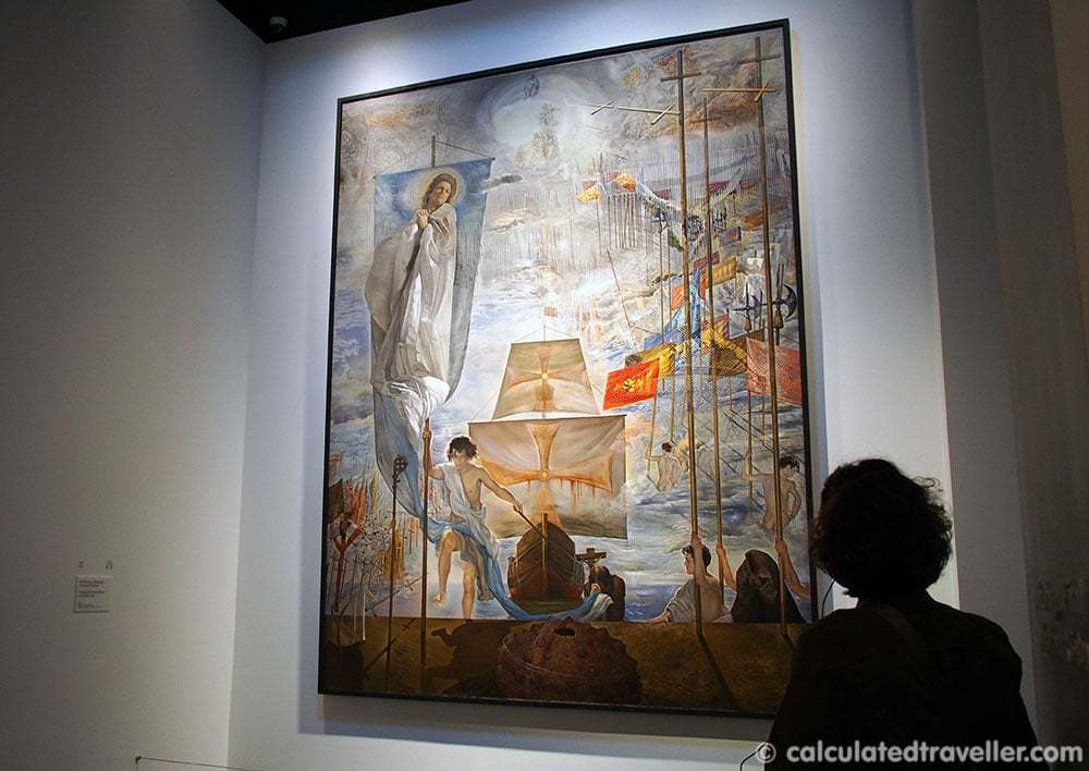 Visions and Dreams at The Dali Museum in St. Petersburg Florida - The Discovery of America by Christopher Columbus