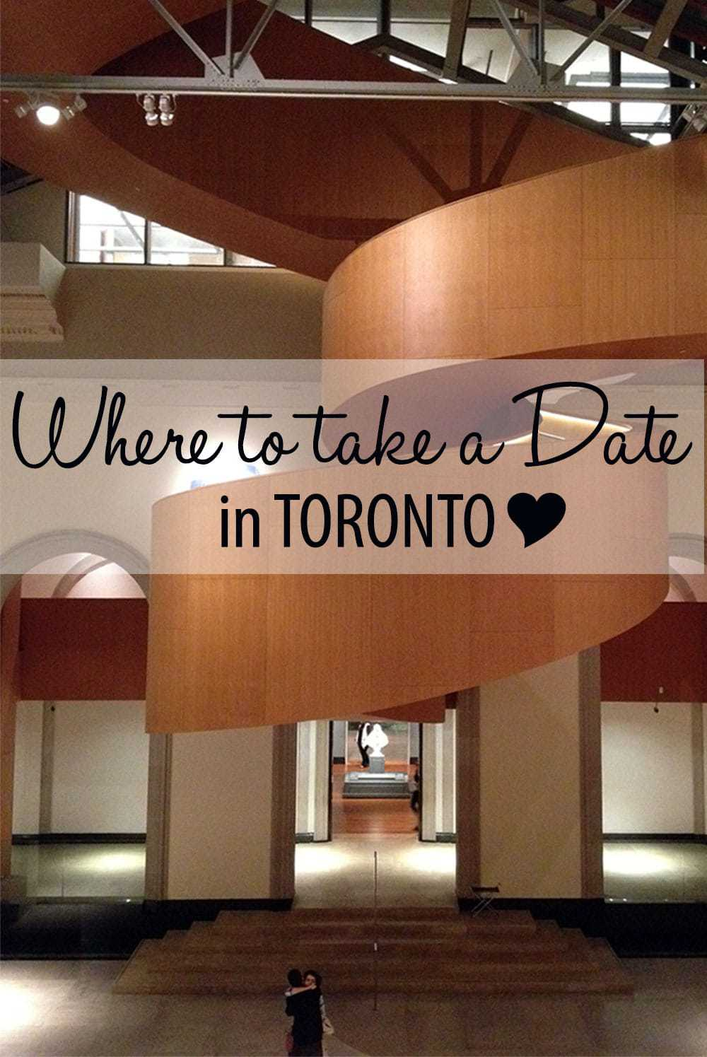 Where to Take a Date in Toronto by Calculated Traveller