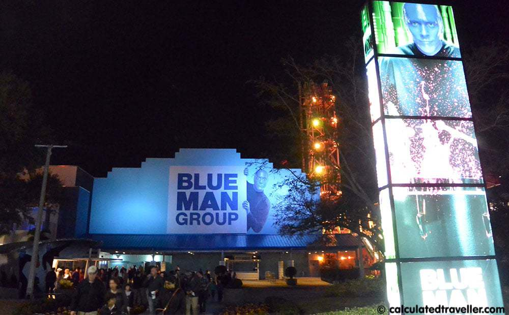Embracing Weird Blue Man Group Show Orlando